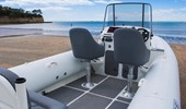 7.7m Wide Console RIB spaciousness