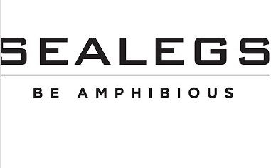 Black Sealegs logo