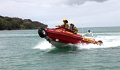 6.1m D Tube fire boat on water